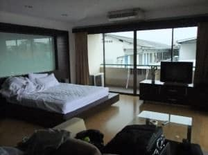 The Pinewood Residences Central Pattaya bedroom view