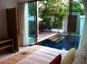 Beach Republic Hotel room with private pool Lamai beach Samui