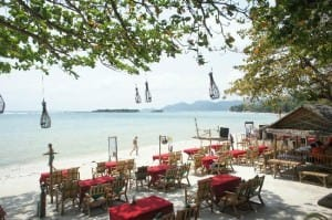 Chalala Samui Resort beachfont location