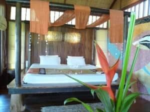 Coral Bay Resort bungalow room view Samui