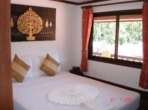 Lamai Beach Residence bedroom