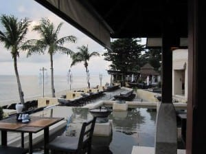 Pavilion Samui Boutique Resort is a beachfront property lounge area