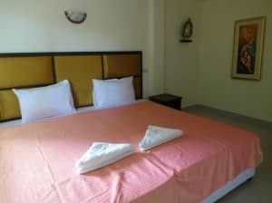 Samui Beach Resort Lamai big double bed room