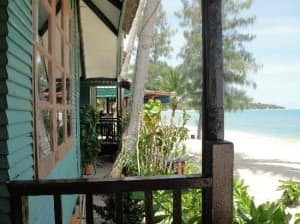 Sand Sea Resort & Spa Lamai beachside bungalow