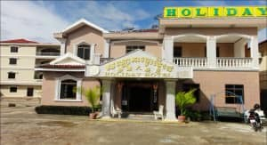 Holiday Hotel Sihanookville view from the exterior
