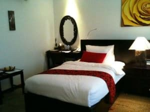 La Rose Boutique Hotel & Spa bedrooom