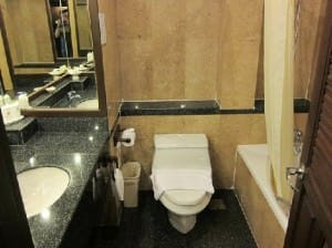 Avalon Beach Resort Jomtien toilet