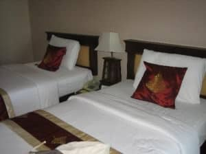 Jomtien Thani Hotel bed