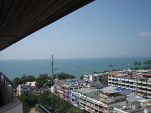 Jomtien Thani Hotel view from room