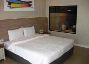 Sea me spring too Pattaya bed view in room