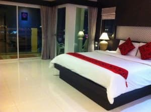 Amata Resort Bed in room Patong Phuket