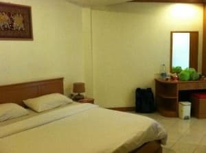 Casa Jip Guesthouse bed in room Patong Phuket