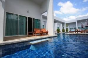 Kata Lucky Villas Phuket view outside room and pool