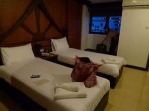 Apsara Residence Phuket Patong beds in  twin room