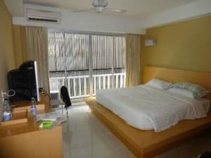 Aspery Hotel Patong Phuket bedroom view