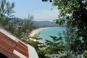 Karon Cliff Contemporary Boutique Bungalows view from hotel room