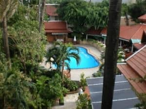 Safari Beach Hotel Patong pool seen from room window